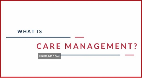 What is Care Management
